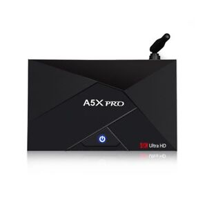 A5X PRO Android 7.1 4K TV Box with 3 months free IPTV