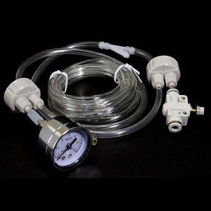 DIY CO2 Generator System Kit D201 pressure gauge Planted Aquarium Live Plants