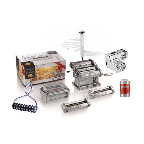 MARCATO MULTIPAST ALL INCLUSIVE Atlas 150 set dough sheeter Pasta Maker +Motor
