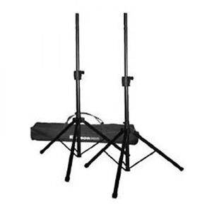 Ericsson Pro Speaker stands and bag