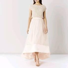 Coast Rhian blush skirt Size 10