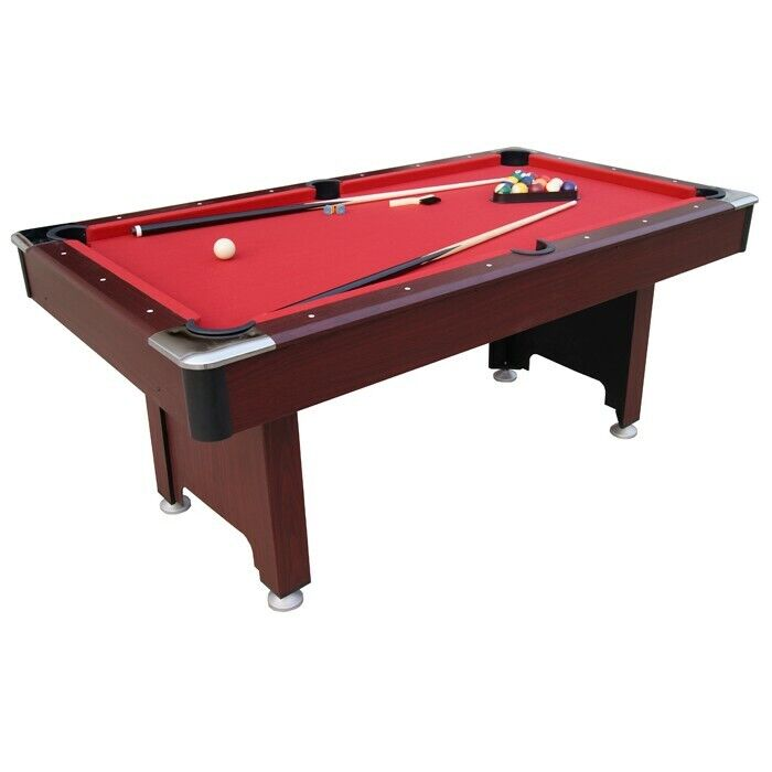 pub pool table 6ft new with accessories sticks delivery