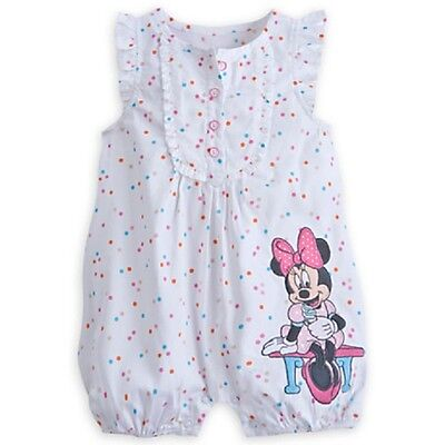DISNEY STORE MINNIE MOUSE SWEET ROMPER FOR BABY NWT ~ SPRINKLES ~ ICE CREAM - Minnie Mouse Sprinkles