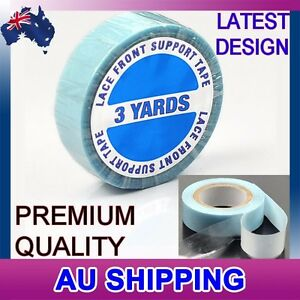 BLUE DOUBLE SIDED SIDE TAPE for TAPE/ SKIN WEFT HAIR EXTENSIONS HOLDS 3 MONTHS.