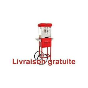 Machine a popcorn / Golden Popcorn Machine With Cart Red