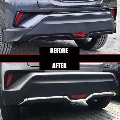 Stainless Steel Rear Stop Lamp Brake Light Trim For Toyota CHR C-HR 2017-2019