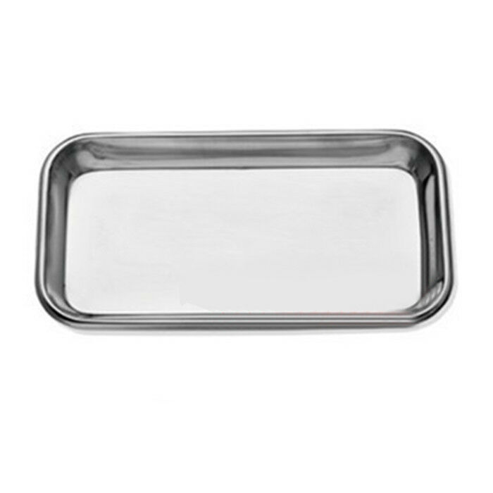 FDA Dental Stainless Steel surgical Medical Tray dentistry Lab tool High Quality