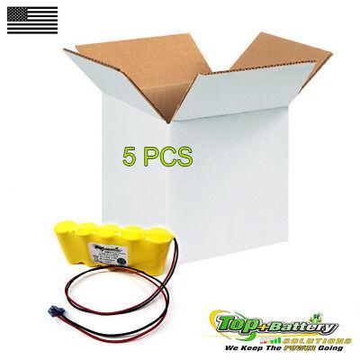5pc Emergency Lighting Battery 9.6v 800mah For Teig T26000139 Sure-lite Sl026139