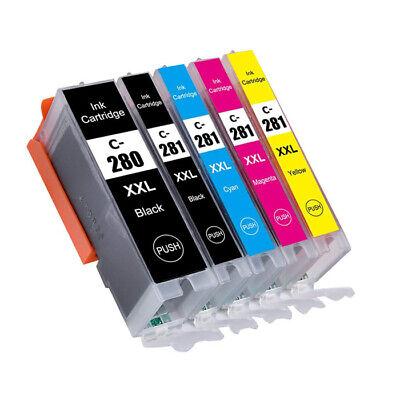 Cli Canon Printer Ink - PGI-280XXL CLI-281XXL Printer Ink for Canon Pixma TS6120 TS6220 TR7520 280 281