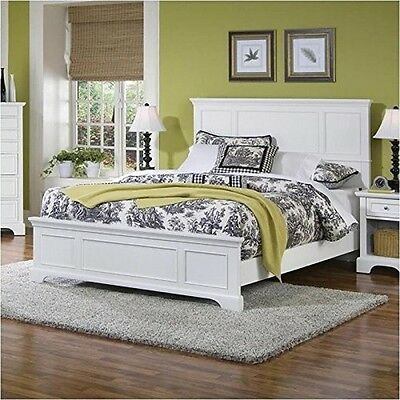 Home Styles 5530-500 Naples Pure Queen Bed White NEW