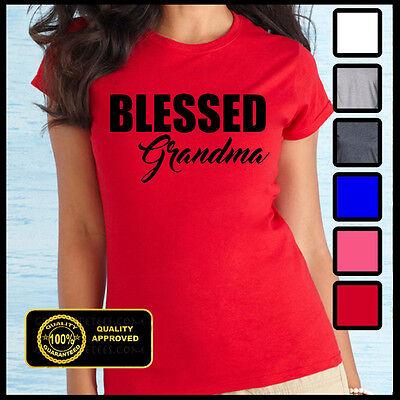 BLESSED GRANDMA SHIRT, Best Grandma Ever, Funny Granny