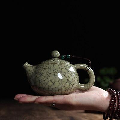 Chinese Traditional Tea Set Longquan Celadon Teapot 140ml Small Xishi Tea -