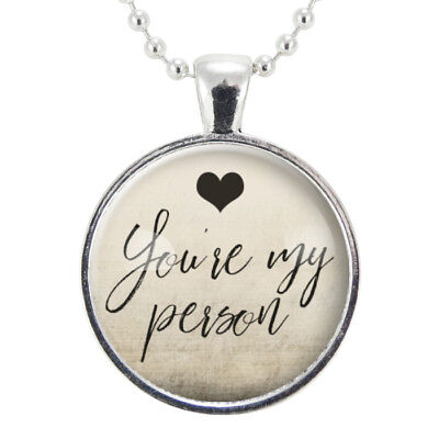 You're My Person Necklace, BFF Best Friend Jewelry, Gifts For