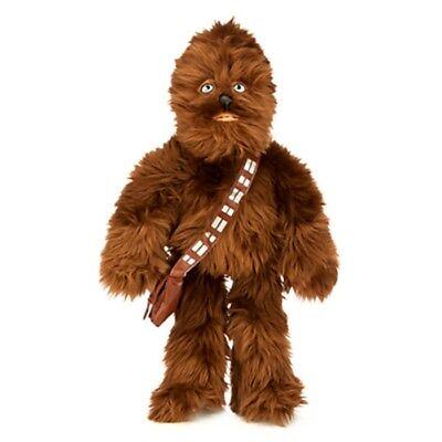 """19"""" Star Wars CHEWBACCA Chewie Plush Stuffed Animal Disney Store Toy Doll"""