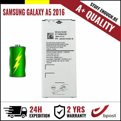 A+ REPLACEMENT VERVANG BATTERY/BATTERIJ/BATTERIE FOR SAMSUNG GALAXY A5 2016
