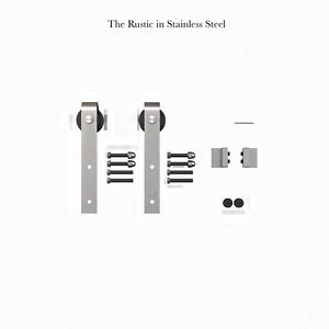 Brand New Sliding Barn Door Hardware Assorted Styles & Finishes