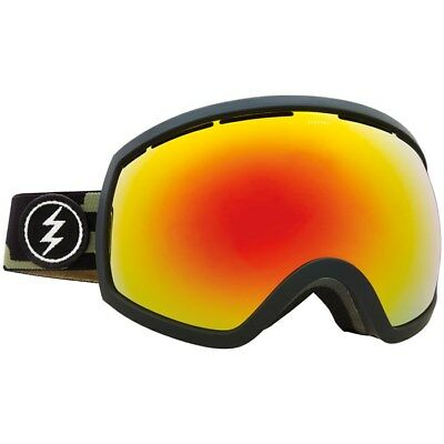 Electric Visual EG2 Duct Tape Snowboarding Goggles (Brose / Silver Chrome)