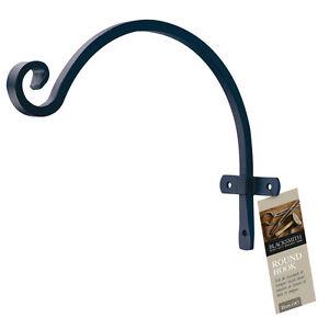 Gardman Blacksmith Hanging Basket Lantern Bird Feeder Bracket - 27.5cm