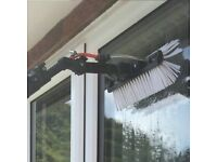 Window, Gutter, Solar Panel Cleaning and a Pressure Washing business , both linked in together,