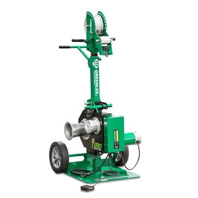 Greenlee G6 6000 Lb Turbo Cable Puller With Force Gauge Foot Switch 12 Amps