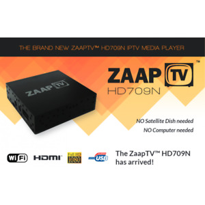 ZAAP TV, ZAAPTV 709N WATCH LIVE ARABIC TV @ ANGEL ELECTRONICS