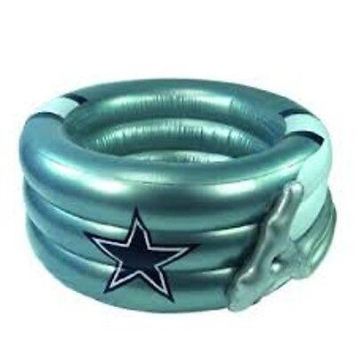 Dallas Cowboys Inflatable Helmet Pool 4' x 20