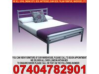 BRAND NEW Small Double/Double Metal Bed Frame with Mattress of Choice