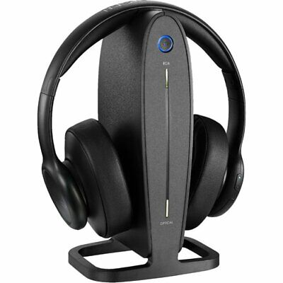 🎧 NEW INSIGNIA NS-HAWHP2 RF WIRELESS OVER-THE-EAR UNIVERSAL TV HEADPHONES 🎧