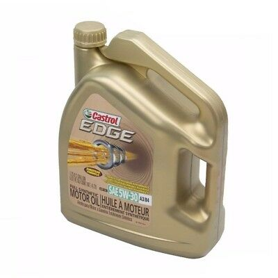 Engine Motor Oil 5 Quarts 5w30 Fully Synthetic 5w-30 CASTROL EDGE for BMW MINI