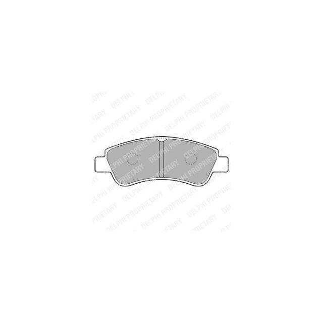DELPHI  23954 Bremsbelagsatz, Scheibenbremse  Vorne Satz zb PEUGEOT PARTNER Kast