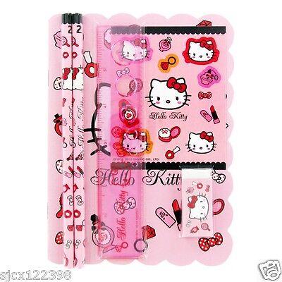 Sanrio Hello Kitty Stationary Set - Pink Cosmetics