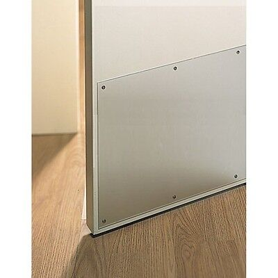 "(1) Ives 24865 8400 CLR 10"" x 40.5"" Protector Door Kick Plate 1/8"" CLEAR ACRYLIC"
