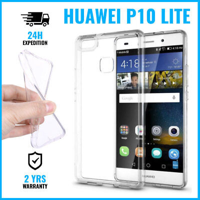 Transparent Cas Gel Clear Case Cover Etui Coque Silicone TPU For Huawei P10 Lite