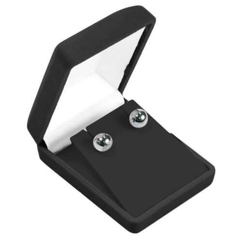 """144 Black Velvet Larger Earring or Pendant Gift Boxes 2 3/8""""W x 3""""D x 1 1/8""""H"""