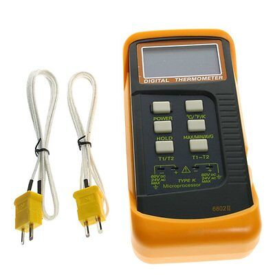 Digital Thermometer Thermocouple Sensor 1300c 2 K-type