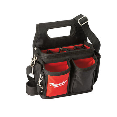 Milwaukee 48-22-8100 15 Pocket Electrician Work Pouch with Quick Adjust Belt