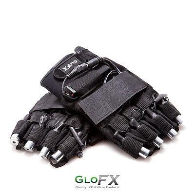 Laser Gloves - GloFX Brand USA - Light Show LZR Lazer Glove Set Pro Lightshow