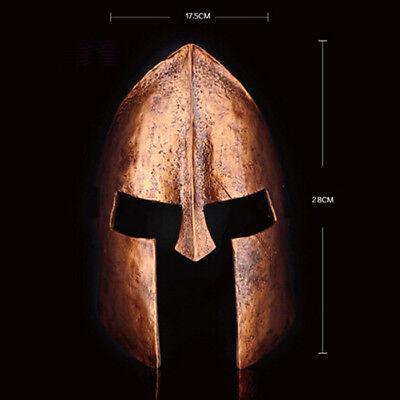 Spartan Warrior Helmet Mask Movie Prop Collect Halloween Spartan Race Resin - Halloween Racing Helmet
