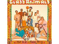 GLASS ANIMALS - LEVEL 2 ROW A SEATED - CAMDEN ROUNDHOUSE - TUES 25/10 - £45!