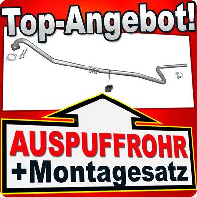 Rohr FORD FIESTA FUSION MAZDA 2 1.4 CD/TDCI 2001-2008 Auspuff Mittelrohr YYY