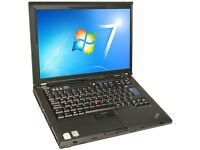 Lenovo Thinkpad T61 - Intel Core 2 Duo - 2GB RAM - Wi-FI - windows 7