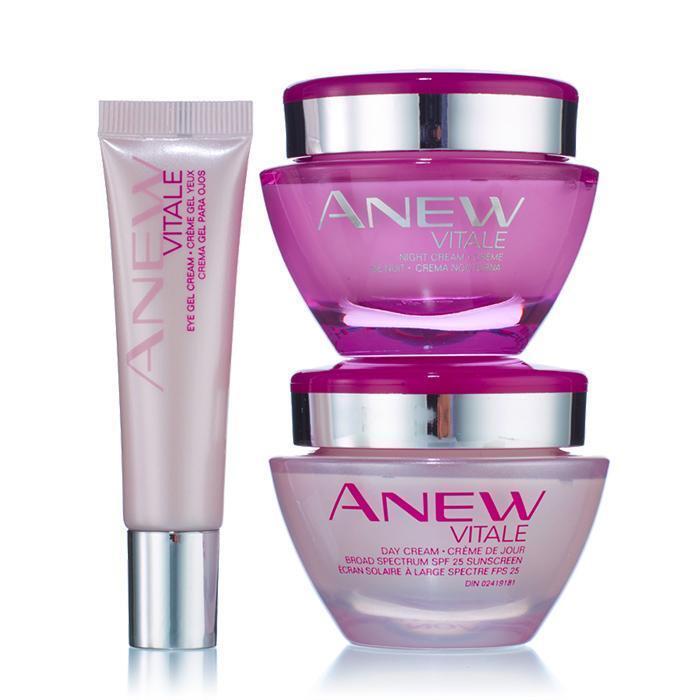 Avon Anew Vitale Cream Line