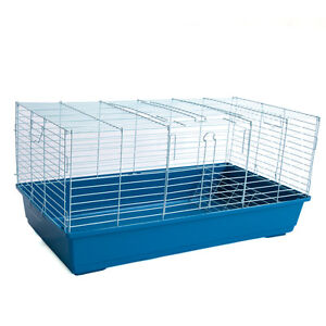 Brand-New-Rabbit-Guinea-Pig-Cage-Bunny-Hotel-with-Big-Tray
