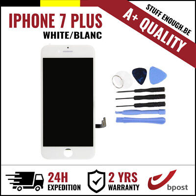 A+ LCD TOUCH SCREEN DISPLAY/SCHERM/ÉCRAN WHITE BLANC & TOOLS FOR IPHONE 7 PLUS