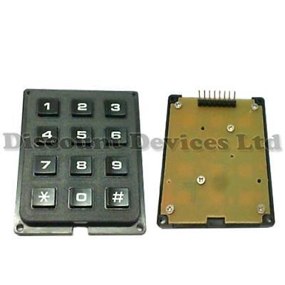 Keypad Entry Alarm - Matrix Numeric/Alarm Keypad/Keyboard/Key DIY Entry Syst