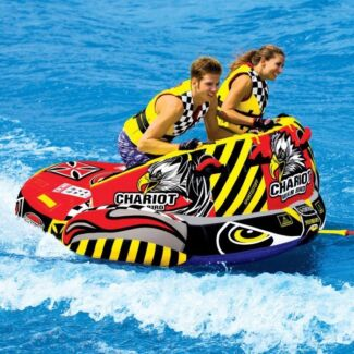Sports Stuff Chariot Warbird 2 Towable WaterSki Tube Inflatable