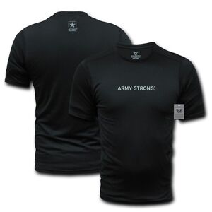 Us army strong muscle workout training military t shirt t for Military t shirt companies