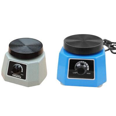 Us Stock Dental Laboratory Equipment Vibrator Oscillator 4 Round Variable Speed