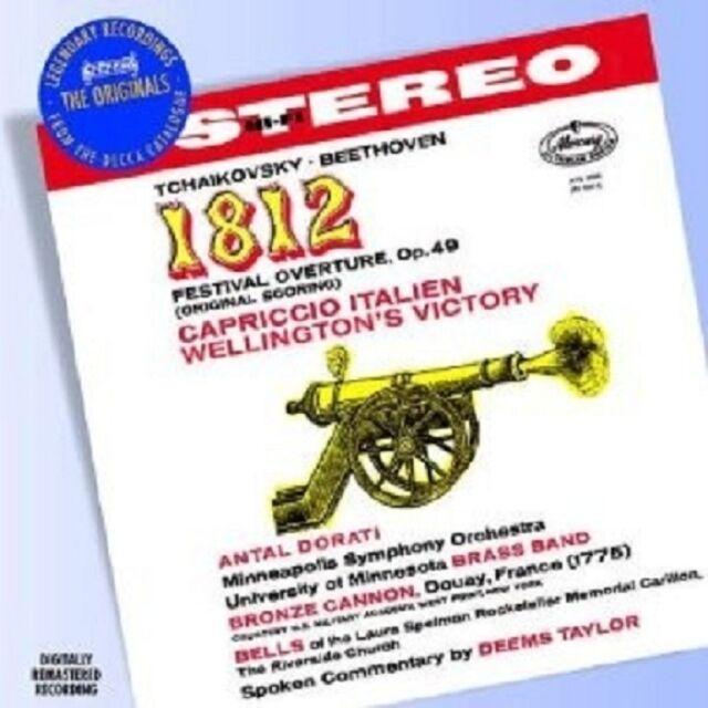 ANTAL/MIO/LSO DORATI - OUVERTÜRE 1812/CAPRICCIO ITALIEN/WELLINGTONS SIEG  CD NEU