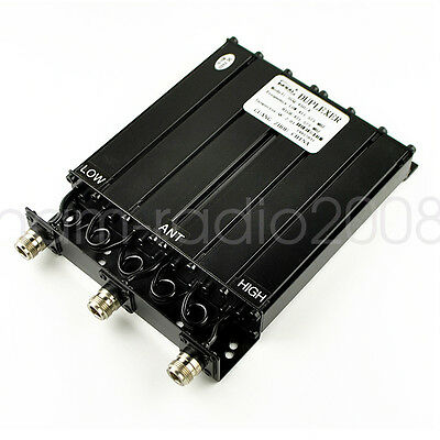 UHF 6 CAVITY mobile DUPLEXER For Icom  radio repeater  380-520Mhz for sale  Shipping to Canada